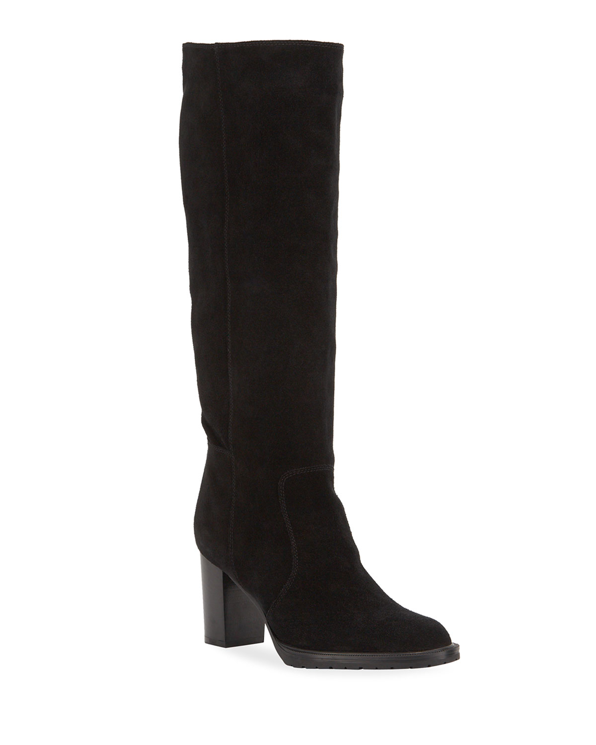 Breanna Suede Knee Boots