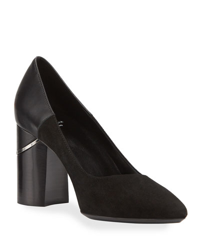 Phaedra Dress Suede/Calf Pumps