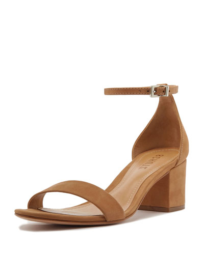 Chimes Block-Heel Sandals