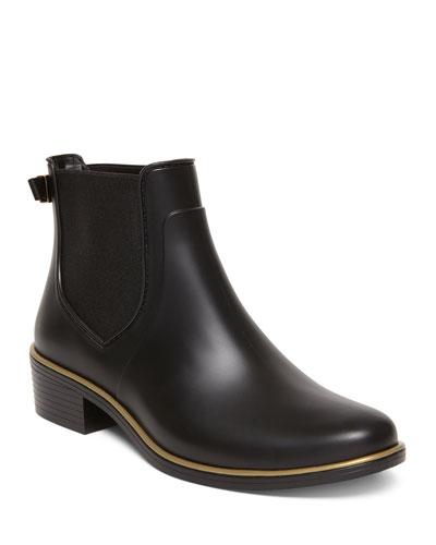 sally slip-on chelsea rain boots