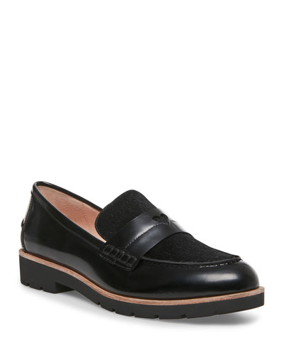 kimi calf hair loafers