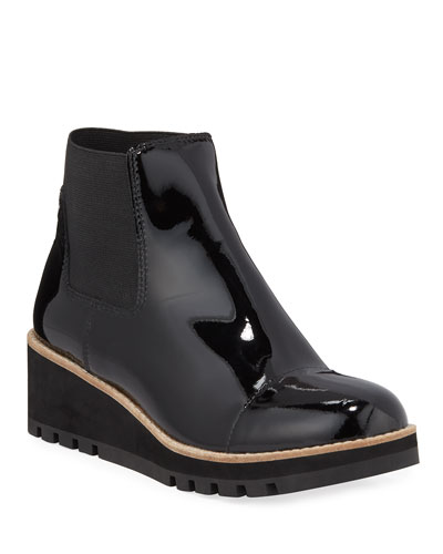 Low-Wedge Chelsea Boots