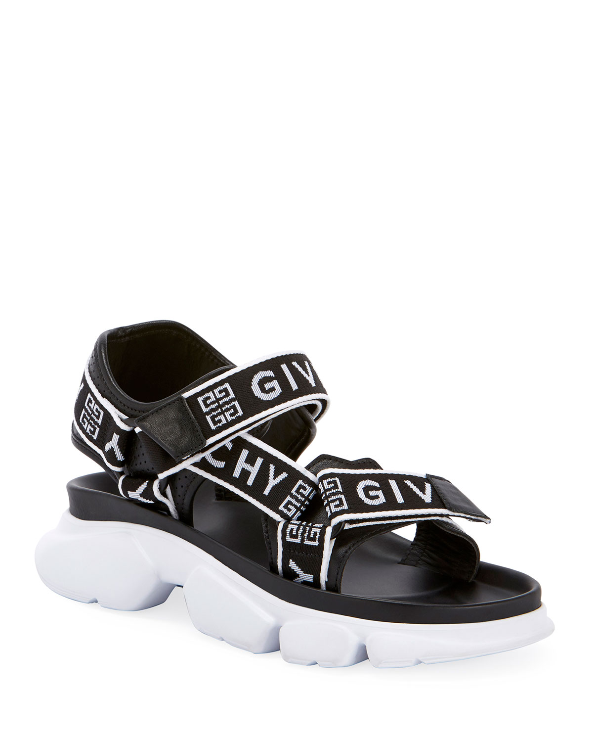 Givenchy Sandals JAW LOGO WEB SANDALS