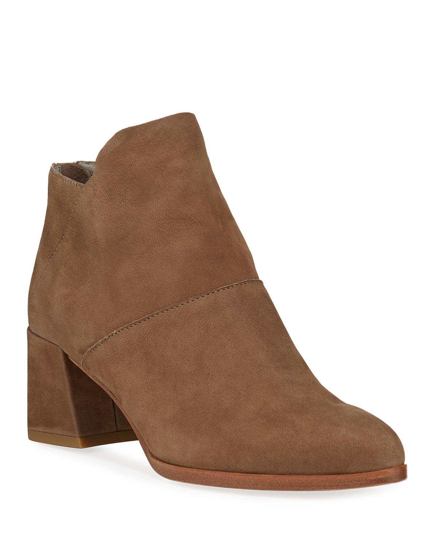 Liesel Nubuck Leather Booties