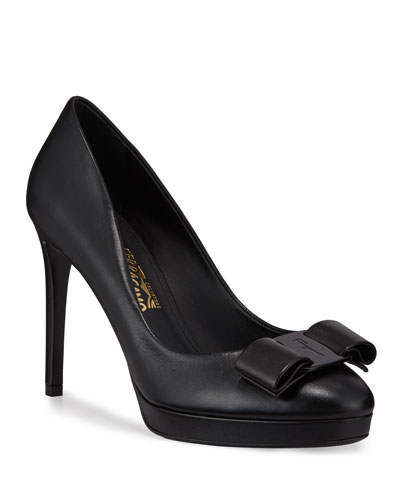 Osimo Platform Pumps with Vara Bow
