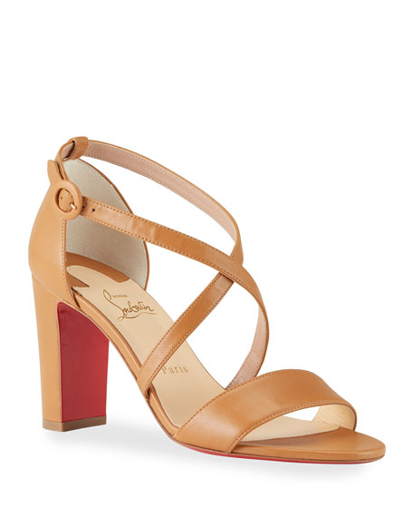 Christian Louboutin Loubi Bee 85mm Red Sole Sandals