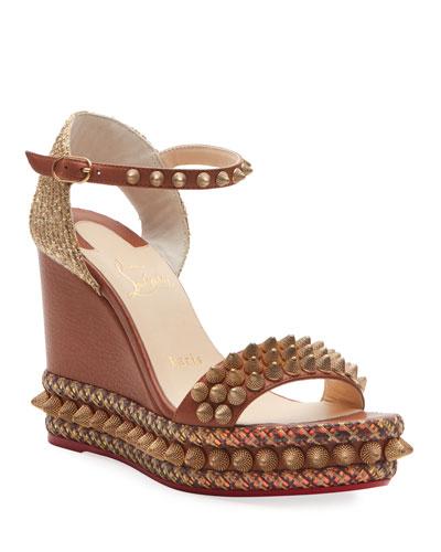 Cordorella 110 Spike Red Sole Sandals