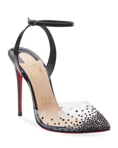 Spikaqueen 100 Red Sole Pumps