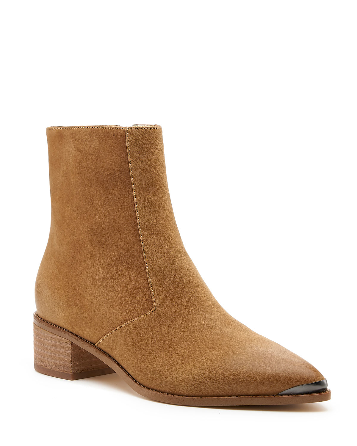 Greer Brushed Zip Booties