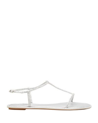 Thin Strap Sandal   Neiman Marcus