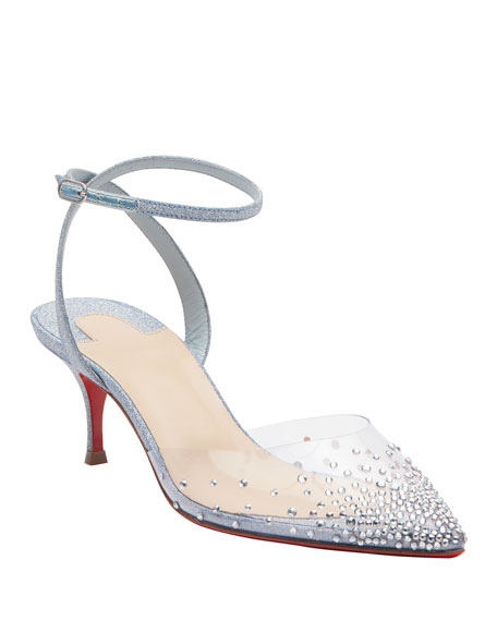 Christian Louboutin Spika Queen 55mm Red Sole Pumps