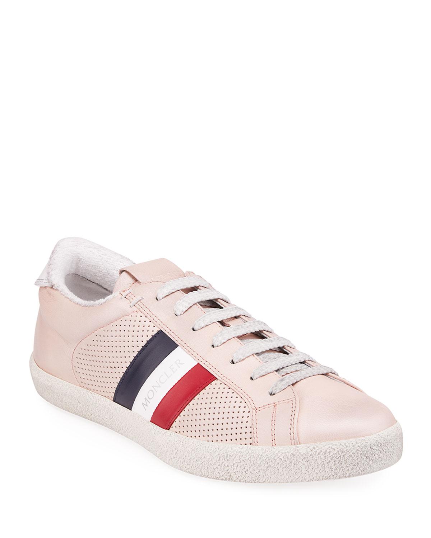 Ryegrass Leather Logo Stripe Sneakers