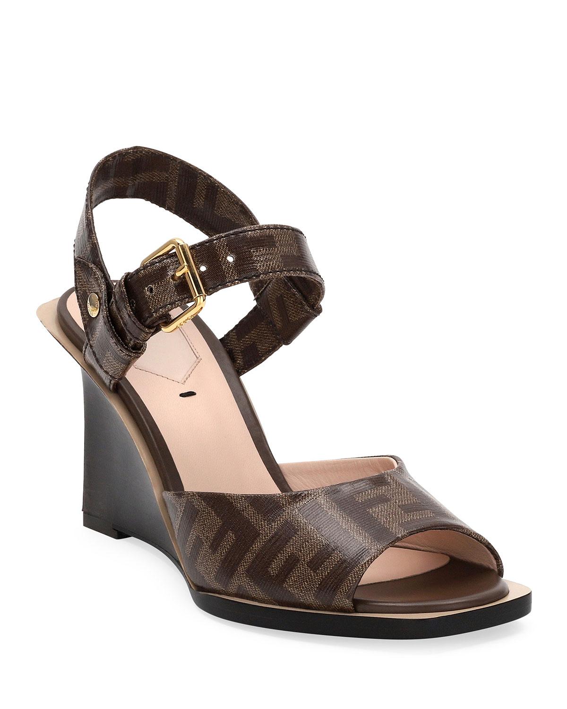 FF Wedge Sandals