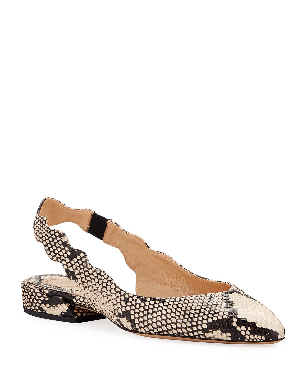 Chloé Flats LAURENA SLINGBACK BALLET FLATS
