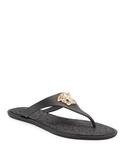 Medusa Flat Slide Thong Sandals