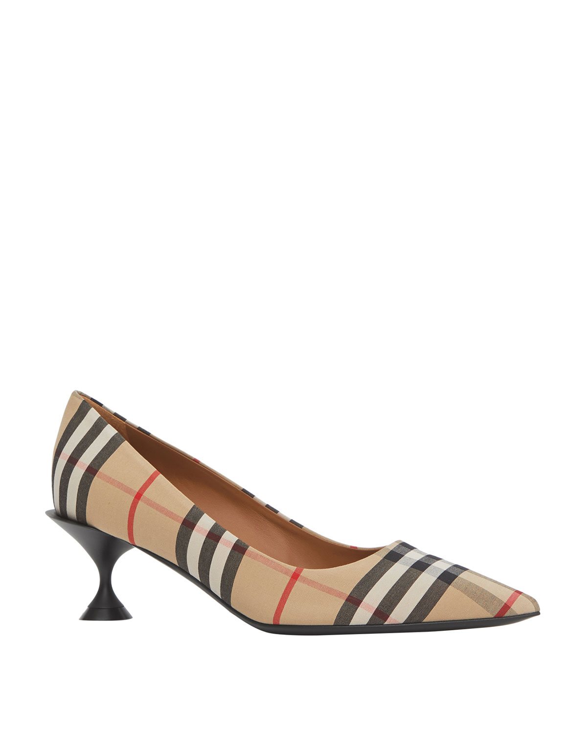 Burberry Pumps LILLYTON CHECK POINTED PUMPS