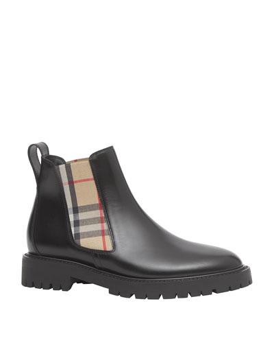 Allostock Check Chelsea Boots