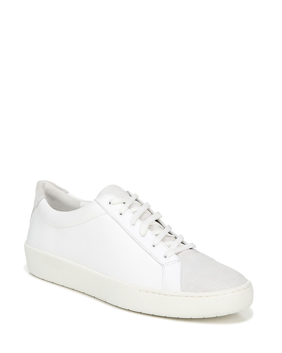 Vince Sneakers JANNA MIXED LEATHER LOW-TOP SNEAKERS