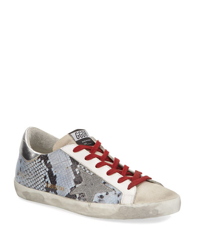 Superstar Snake-Print Sneakers
