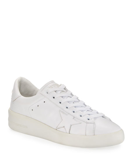 Golden Goose Pure Star Lace-Up Sneakers