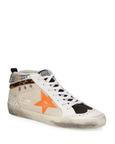 Mid-Star Leopard Sneakers