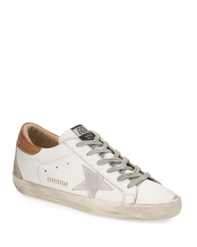 Superstar Leather Lace-Up Sneakers