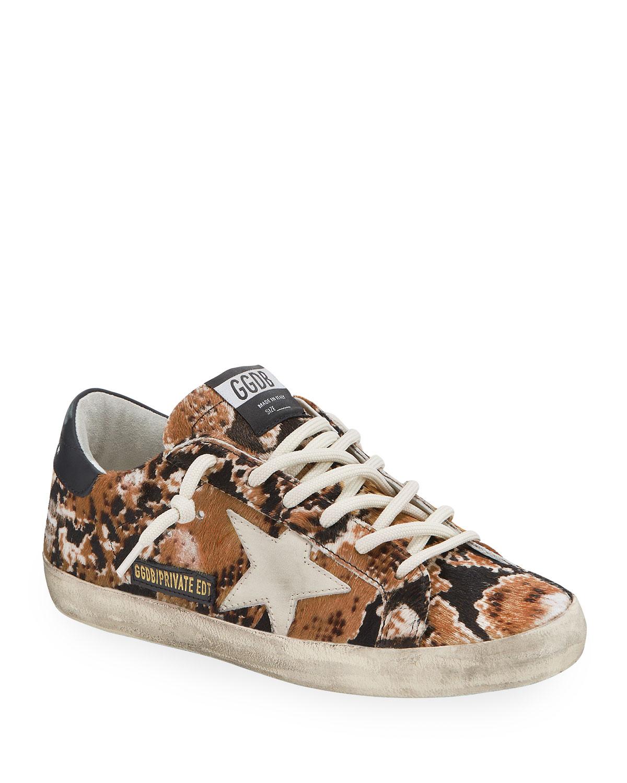 Superstar Snake Calf Hair Sneakers