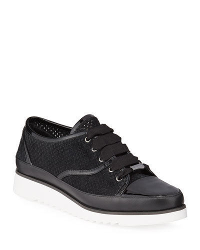 Flipp Perforated Suede Sneakers