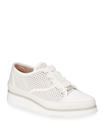 Flipp Perforated Leather Sneakers
