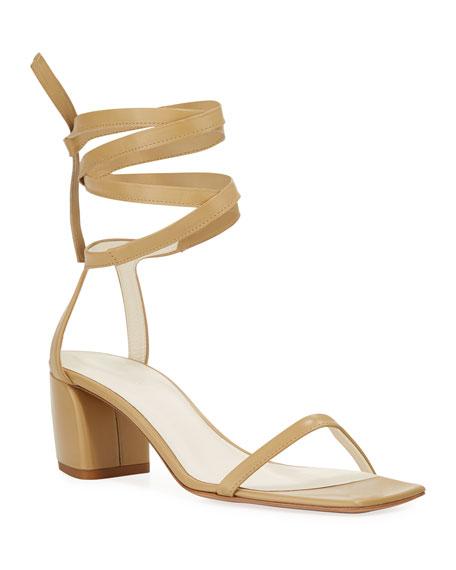 Tibi Shyah Baby Calf Sandals