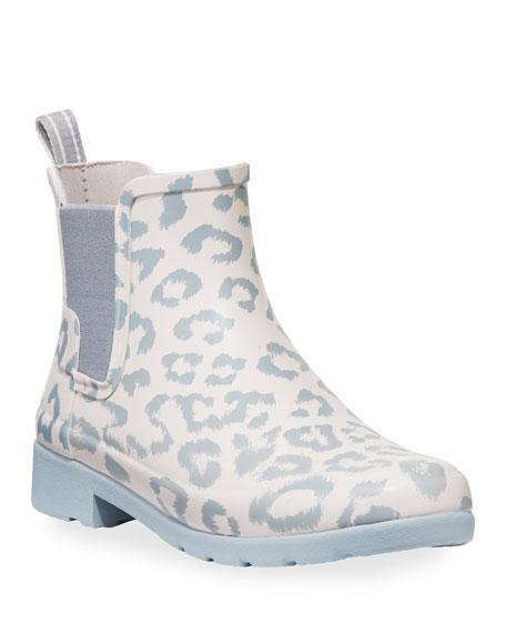 Hunter Boot Refined Leopard Chelsea Booties