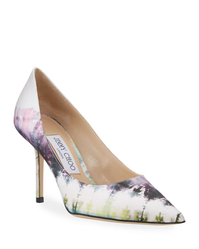 Love Tie Dye Stiletto Pumps
