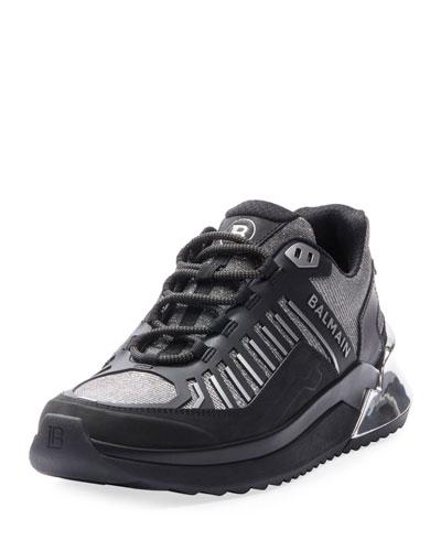 B Trail Metallic Sneakers