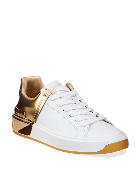 Balmain B Court Metallic Sneakers