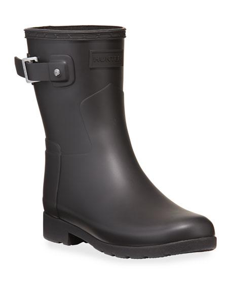 Hunter Boot Refined Short Matte Booties
