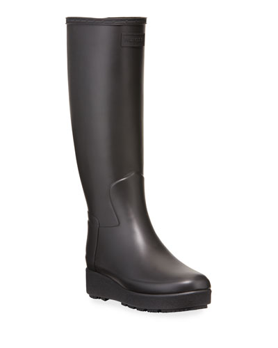 Refined Creeper Tall Rain Boots