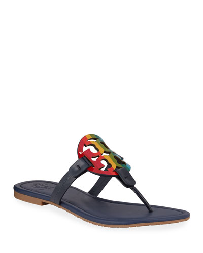 Miller Rainbow Flat Sandals