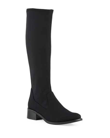 Donald J Pliner Zela Stretch Crepe Knee Boots