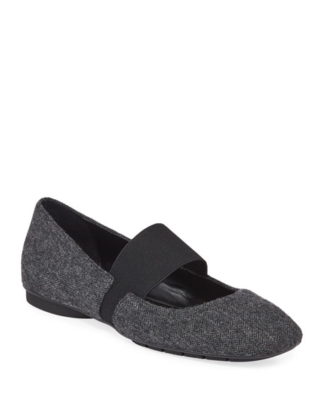 Donald J Pliner Dennis Tweed Mary Jane Flats