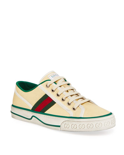 Vulcan 78 Tweed Web Strap Tennis Sneakers