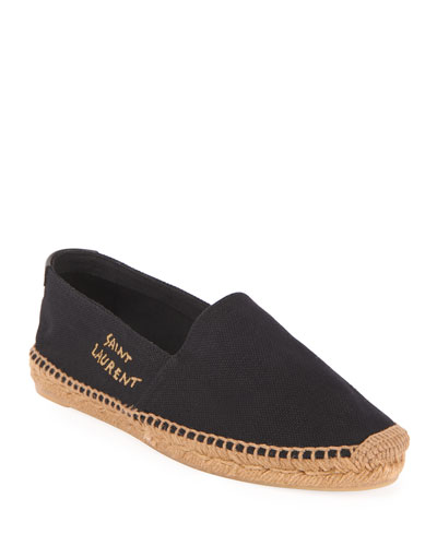 Signature Canvas Flat Espadrilles
