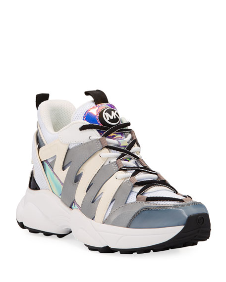 MICHAEL Michael Kors Hero Colorblock Trainer Sneakers