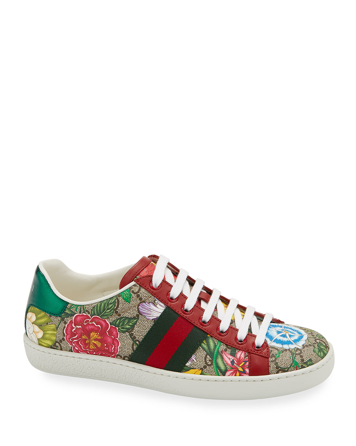 Gucci Sneakers NEW ACE FLORA CANVAS SNEAKERS
