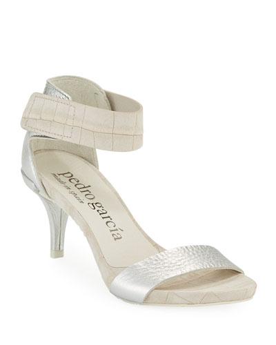 Winka Mock-Croc Sandals