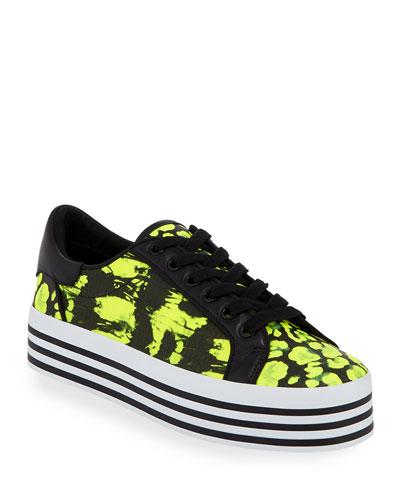 Falyn Neon Platform Sneakers