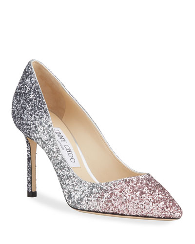 Romy 85mm Ombre Glitter Pumps