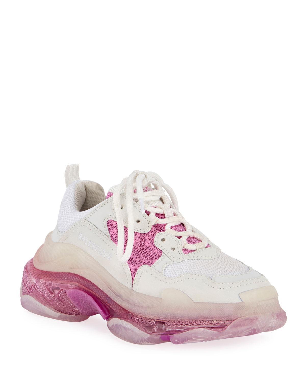 Balenciaga Sneakers TRIPLE S NEON TRAINER SNEAKERS