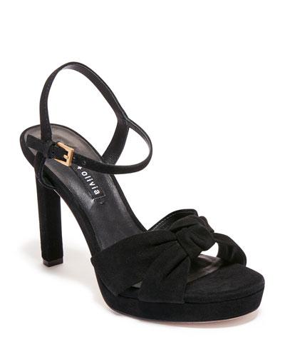 Bailee Platform Suede Sandals