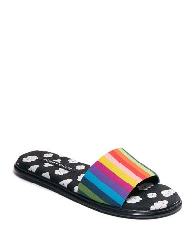 Taleen Slide Flat Sandals