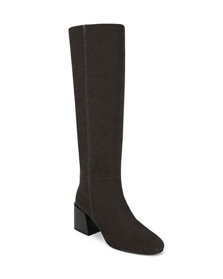 Via Spiga Desi Suede Knee Boots
